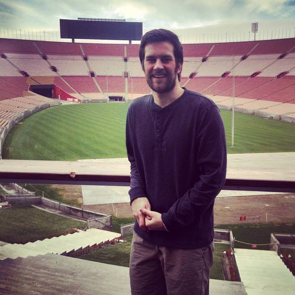 "Austin Nay - ""Can't wait for my North Carolina family to get out here in April!"" #burngreenville #nctoca #thecallazusa #memorialcoliseum #azusanow2016 — at Los Angeles Memorial Coliseum and Sports Arena."