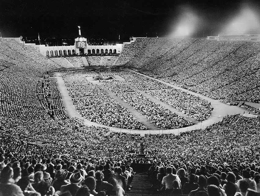 In his day, Billy Graham filled many stadiums and coliseums across America. Today persecution seems to be on the rise, and America seems to be in decline on many fronts, yet the kingdom of God grows ever stronger! As the people of God unify, stand together against the current of culture, and turn again to our first Love, could we be on the brink of another great wave of revival, where thousands are saved and delivered daily and stadium Christianity is no longer a thing of the past?